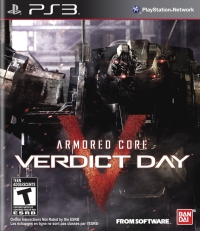 Armored Core: Verdict Day Box Art