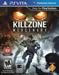 Killzone: Mercenary Box Art