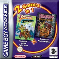 2 Games in 1: Scooby-Doo and the Cyber Chase + Scooby-Doo! Mystery Mayhem Box Art