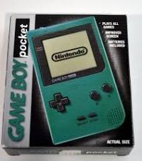 Nintendo Game Boy Pocket - Green Box Art