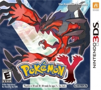 Pokémon Y Box Art