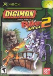 Digimon: Rumble Arena 2 Box Art