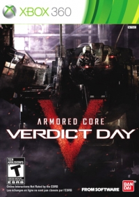 Armored Core: Verdict Day Box Art