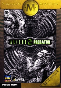 Aliens Versus Predator 2 - Medallion Best Value Box Art
