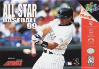 All-Star Baseball 99 Box Art