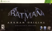 Batman: Arkham Origins - Collector's Edition Box Art