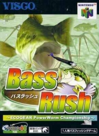 Bass Rush: EcoGear PowerWorm Championship Box Art