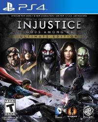 Injustice: Gods Among Us - Ultimate Edition Box Art