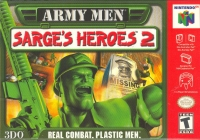 Army Men: Sarge's Heroes 2 (green cartridge) Box Art