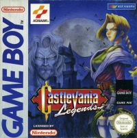 Castlevania Legends Box Art
