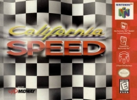 California Speed Box Art