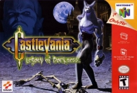 Castlevania: Legacy of Darkness Box Art