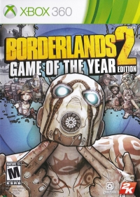 Borderlands 2: Game of the Year Edition Box Art