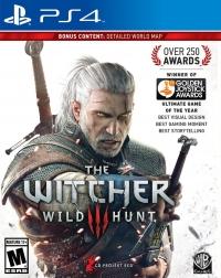 Witcher 3, The: Wild Hunt Box Art