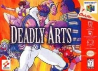 Deadly Arts Box Art