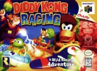 Diddy Kong Racing Box Art
