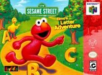 Elmo's Letter Adventure Box Art
