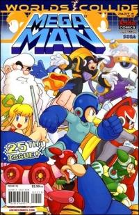 Mega Man #25 Box Art