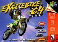 Excitebike 64 Box Art