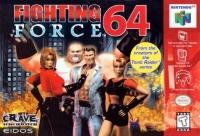 Fighting Force 64 Box Art