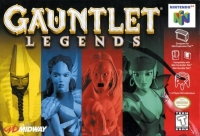 Gauntlet Legends Box Art