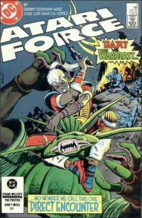 Atari Force (1984) #2 Box Art