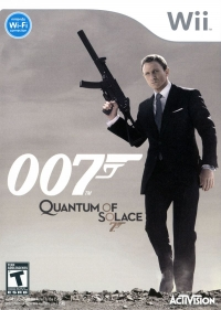 007: Quantum of Solace Box Art