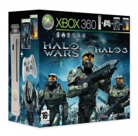 Microsoft Xbox 360 - Halo Wars / Halo 3 [EU] Box Art