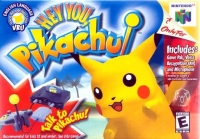 Hey You, Pikachu! Box Art