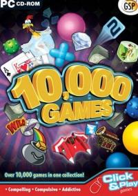 10,000 Games Box Art