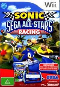 Sonic & Sega All-Stars Racing (Pack Includes) Box Art