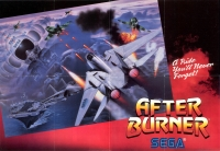 After Burner Poster (Sega) Box Art