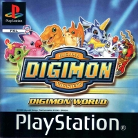 Digimon World Box Art