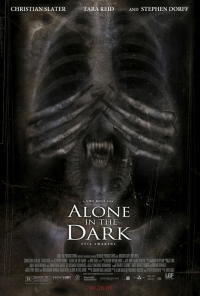 Alone In the Dark movie poster Box Art
