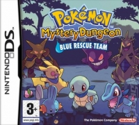 Pokémon Mystery Dungeon: Blue Rescue Team Box Art