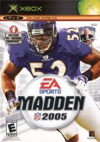 Madden NFL 2005 Box Art