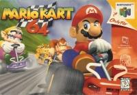 Mario Kart 64 Box Art
