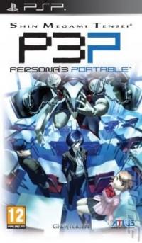 Shin Megami Tensei: Persona 3 Portable Box Art
