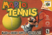 Mario Tennis Box Art