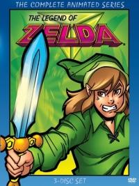 Legend of Zelda: The Complete Animated Series (DVD) Box Art
