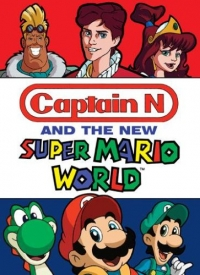 Captain N and the New Super Mario World (DVD) Box Art