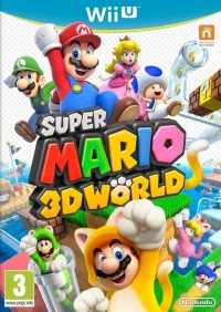 Super Mario 3D World [UK] Box Art