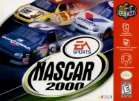 NASCAR 2000 Box Art