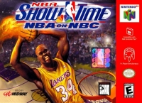 NBA Showtime: NBA on NBC Box Art