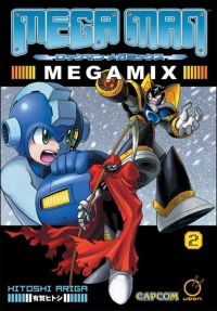 Mega Man Megamix 2 Box Art