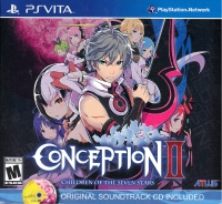 Conception II: Children of the Seven Stars (Original Soundtrack CD Included) Box Art