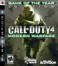 Call of Duty 4: Modern Warfare - Game of the Year Edition Box Art