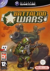 Battalion Wars Box Art