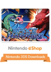 3D Space Harrier Box Art