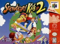 Snowboard Kids 2 Box Art